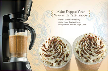 Mr. Coffee Frappe Maker benefits
