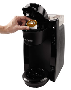 Amazon.com: Mr. Coffee Single Serve Coffee Brewer BVMC-KG5-001, 24-Ounce, Black: Single Serve ...