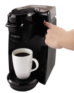 Mr Coffee BVMC KG5 001 Single Serve Coffee Brewer Powered By Keurig
