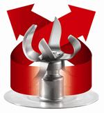 Reversing 600-watt motor