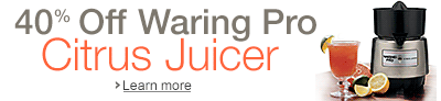 40% Off Waring Citrus Juicer