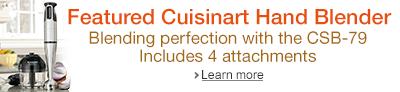 Featured Cuisinart Hand Blender
