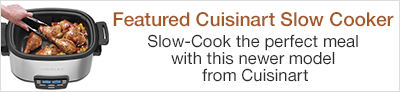 Featured Cuisinart Slow Cooker