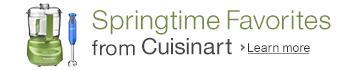 Cuisinart Spring Favorites