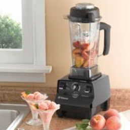 Vitamix 1709 CIA Professional Series with fruits inside