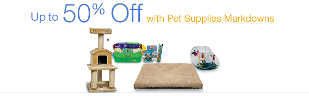 Markdowns in Pet Supplies
