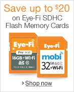 Eye-Fi SDHC Flash Memory Savings