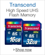 Transcend High Speed UHS Flash Memory