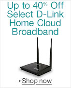 Up to 40% Off Select D-Link Home Cloud Broadband