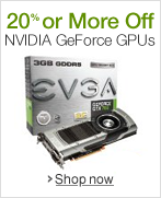20% or More Off NVIDIA GeForce GPUs