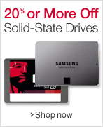 20% or More Off Solid-State Drives