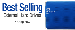 Best-Selling External Hard Drives