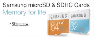 Samsung microSD & SDHC Cards