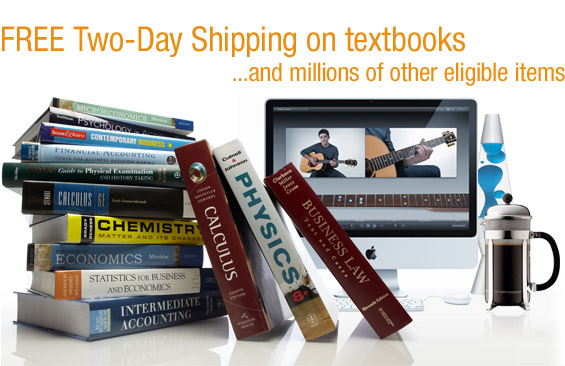 Free Two Day Shipping for 3 Months Trial w/ TextBook Purchase HeroImage_textbook_09._V220640478_