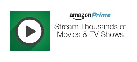 Unlimited access to thousands of movies and TV episodes with Amazon Prime