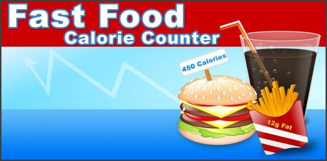 Fast Food Calorie Counter