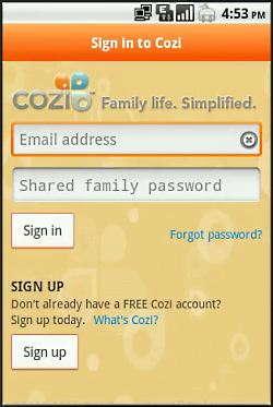 Cozi Family Organizer