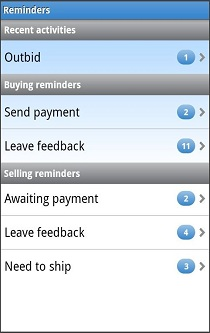 Official ebay android app plat m for Ebay motors app for android