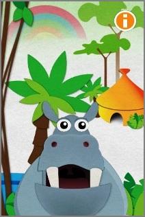 Kids will love Hoppo the happy hippo