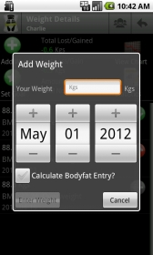 Body & Weight Monitor