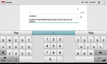 SwiftKey 3 Tablet