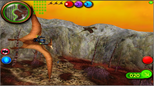 The 3D graphics in Nanosaur 2 are simply stunning