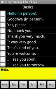 Multilanguage Talking Phrasebook, English-French-German-Italian-Spanish