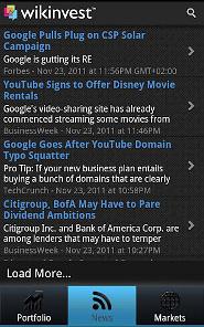 Wikinvest Portfolio Ad-Free
