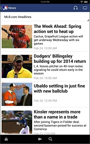 MLB.com At Bat returns for the 2014 MLB season with live Spring