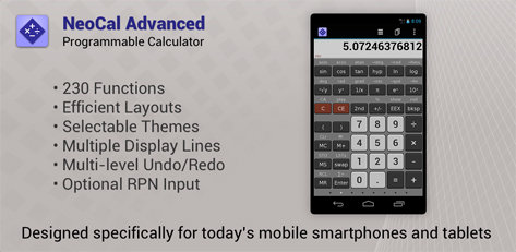 NeoCal Advanced Calculator