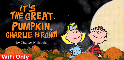 It's the Great Pumpkin Charlie Brown
