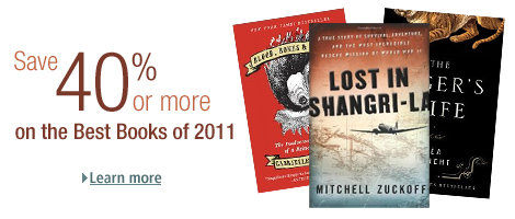 Save 40% or More on the Best Books of 2011