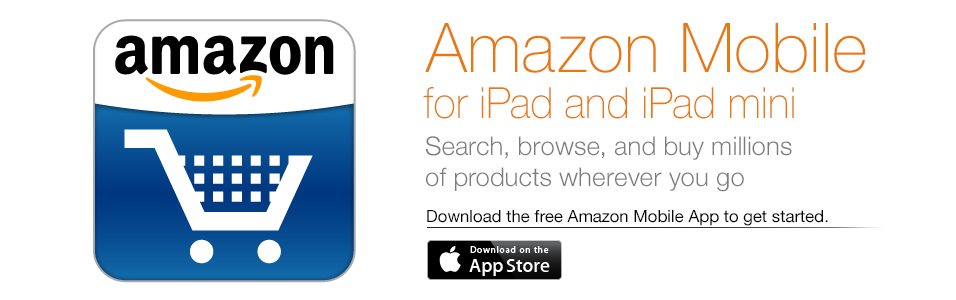 Amazon Mobile for iPad and iPad mini