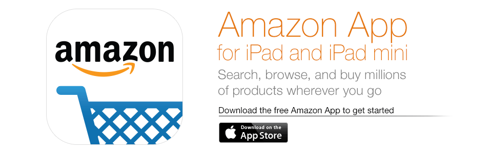 Amazon App for iPad and iPad mini