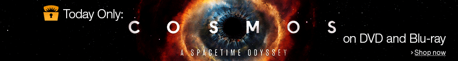 Cosmos: A Spacetime Odyssey is the Deal of the Day