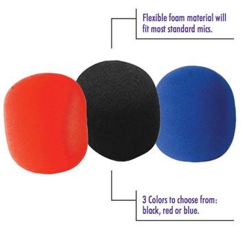 On-Stage Foam Ball-Type Microphone Windscreen