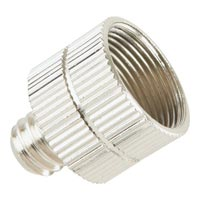 On Stage MA100 3/8-Inch Male to 5/8-Inch Female Mic Screw Adapter