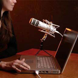 PODCASTER Broadcast Quality USB Microphone