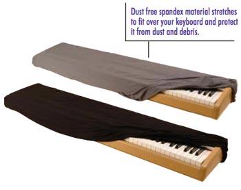 On-Stage KDA7088B 76/88-Key Keyboard Dust Cover
