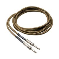 Hosa GTR-518TWD 18-Feet Tweed Cloth Woven Guitar Cable