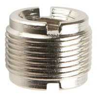 On Stage MA200 5/8-Inch Male to 3/8-Inch Female Mic Screw Adapter