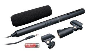 Audio Technica ATR6550 Condenser Shotgun Microphone