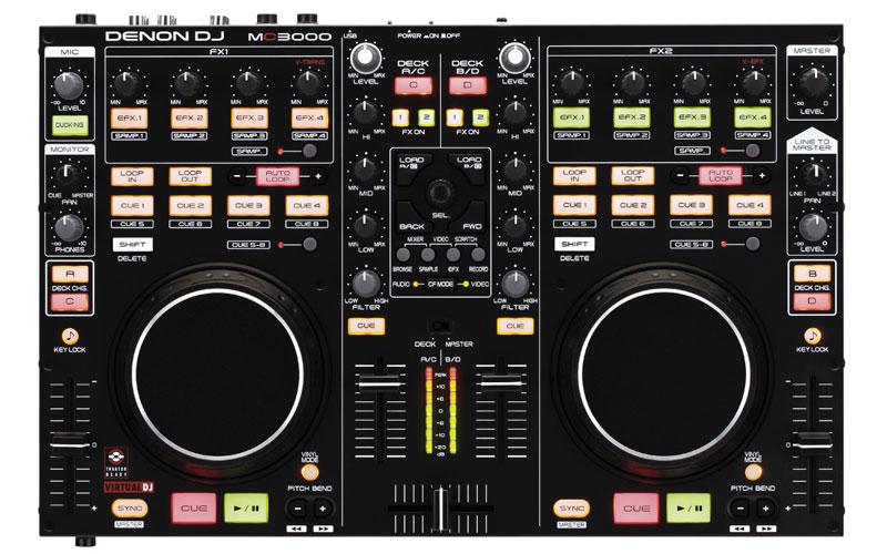 Amazon.com: Denon DJ MC3000 Professional DJ Controller: Musical