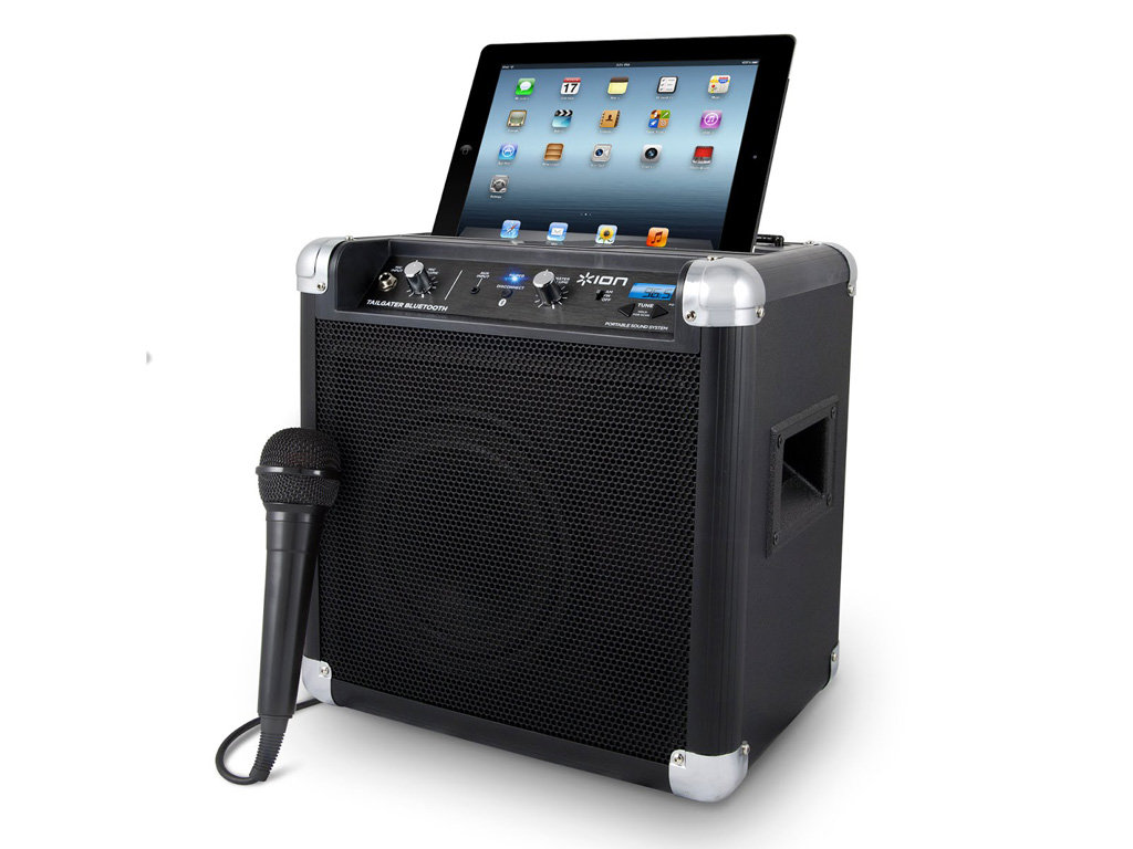 Features of ION Tailgater Bluetooth Portable Speaker System