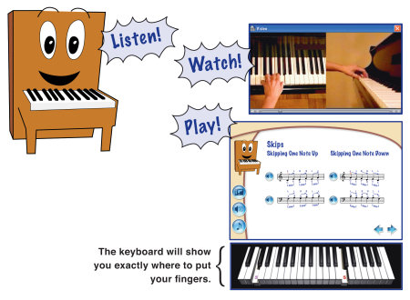 amazoncom emedia my piano starter pack for kids musical instruments e media are kids growing up in a big brother world 450x330