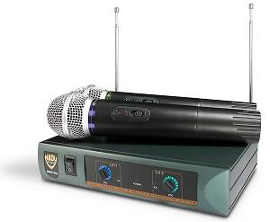 Nady DKW-DUO Dual VHF Wireless Microphone System