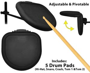Drum Pads Included