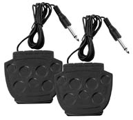 (2) Foot Pedals (Kick & Hi-Hat)