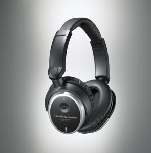 ATH-ANC7b QuietPoint Active Noise-cancelling Headphones