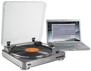 AT-LP60-USB LP-to-Digital Recording System